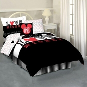 Mickey Love Twin Sheet Set