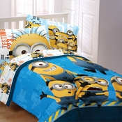 Minions Testing 1234 Bedding for Kids