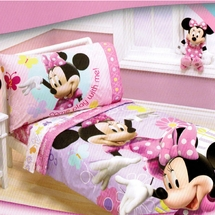 Minnie Mouse Count With Me Toddler Bedding