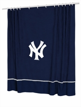 MLB Baseball Shower Curtains