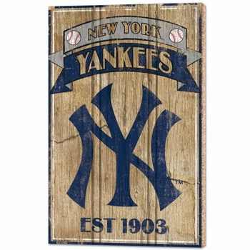 MLB Baseball Teams Wood Signs
