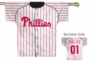 MLB Philadelphia Phillies 2-Sided Jersey Flag