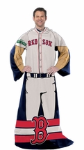 MLB RED SOX Player Snuggler Blanket