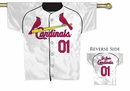MLB St. Louis Cardinals 2-Sided Jersey Flag