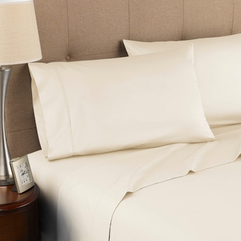 Modern Living 300 Thread Count Certified Organic Cotton  Sheet Set-Queen Size