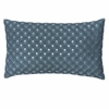 Modern Living Bianca Fish Scale Embroidered Pillow