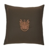 Modern Living Pearce Embroidered Crest Pillow