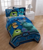 "Monsters University ""Stare"" Twin Sheet Set"