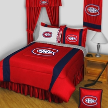 Montreal Canadiens NHL Hockey Bedding-Sidelines
