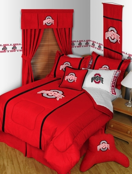 MVP Collection Ohio State Buckeyes Bedding U0026 Accessories