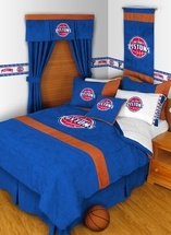 MVP Detroit Pistons NBA Basketball Bedding