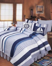 Nantucket Dream Cotton Quilts and Bedding Accessories