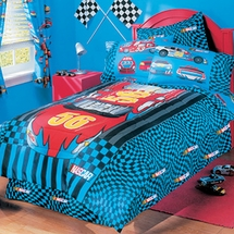 NASCAR Road To Victory Kids Bedding for Boys