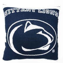 "NCAA Penn State University ""Nittany Lions"" 20"" Square Decorative Woven Pillow"