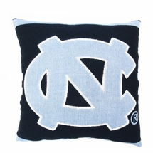 "NCAA University of North Carolina ""Tar Heels"" 20"" Square Decorative Woven Pillow"