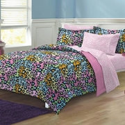 Neon Leopard Bed In A Bag-CHF