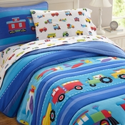 Trains, Planes, & Trucks Kids Bedding by Olive Kids