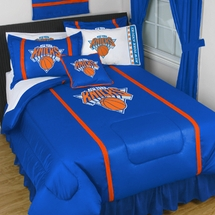 New York Knicks Sidelines NBA Basketball Bedding