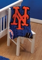NEW YORK METS Coral Fleece Blanket