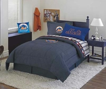 NEW YORK  METS Denim Bedding