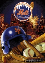 New York Mets Tapestry Throw  Blanket