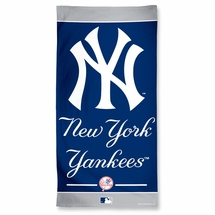 "New York Yankees Beach Towel 100% Cotton-30"" x 60"""