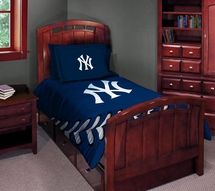 New York Yankees Comforter/Sham Set-Twin/Full (Irregular)