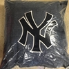 "NEW YORK YANKEES Denim 18"" Square Pillow"