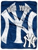 NEW YORK YANKEES JERSEY MICRO BLANKET/THROW