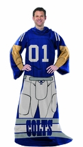 NFL COLTS Player Snuggler Blanket