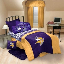 NFL LOGO Minnesota Vikings Bedding Accessories