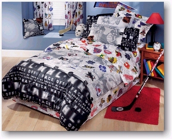 Awesome Nhl Bed Sheets