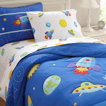 OUT OF THIS WORLD  Kids Space Bedding by Olive Kids