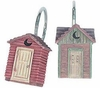 OUTHOUSES Shower Rings