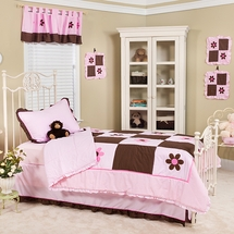 Pam's Petals Bedding Set-  by Pam Grace Creations