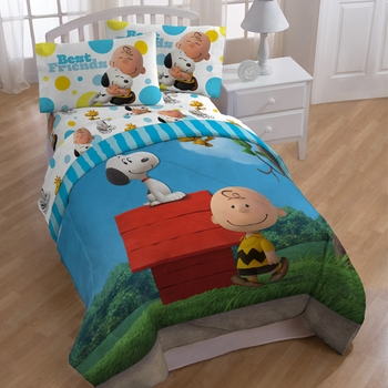 Peanuts & Snoopy Sunny Day Twin Comforter