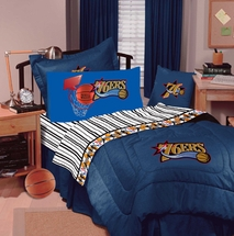 PHILADELPHIA 76'ERS Denim Comforter-Twin Size