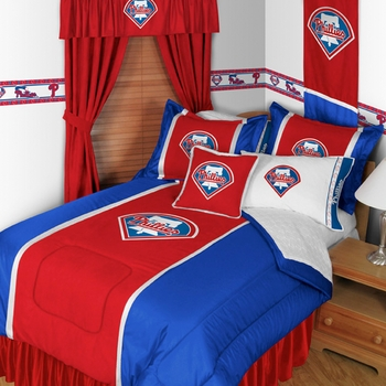 Philadelphia Phillies Sidelines Bedding