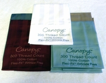 Pillowcase Sampler-300 Thread 100% Cotton-5 Pack