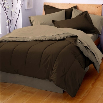 Martex Pipeline Solid Color Reversible Comforters