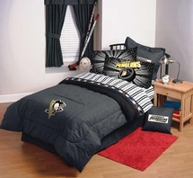 PITTSBURGH PENGUINS   NHL Hockey Bedding and Accessories