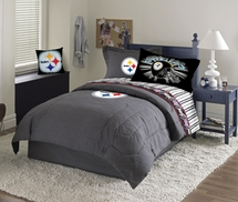 Pittsburgh Steelers Denim Bedding, Slumber Bag, Room Decor