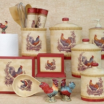Provencal Kitchen Collection-Rooster Design-Blonder Home