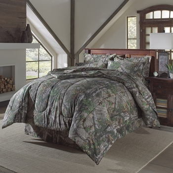 Realtree Xtra Green Camouflage King  Comforter Set