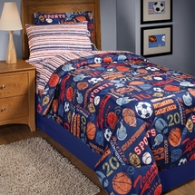 Retro Sport 8 Piece Bed In A Bag Full Size
