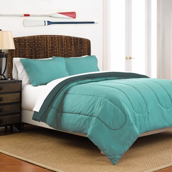 Reversible Comforter Sets-Martex Solid Colors