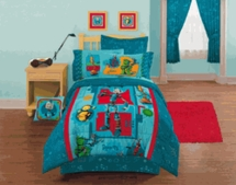 Robots Toddler Bedding Set