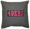 "SAN FRANCISCO 49ers 18"" Denim Pillow"