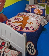 Scooby Baseball Kids Bedding for Boys