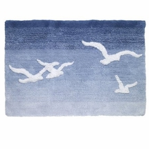 Seagulls Bathroom Rug by Avanti